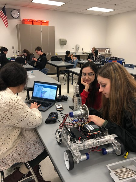 Courtney Prather's High School Robotics Fall 2019